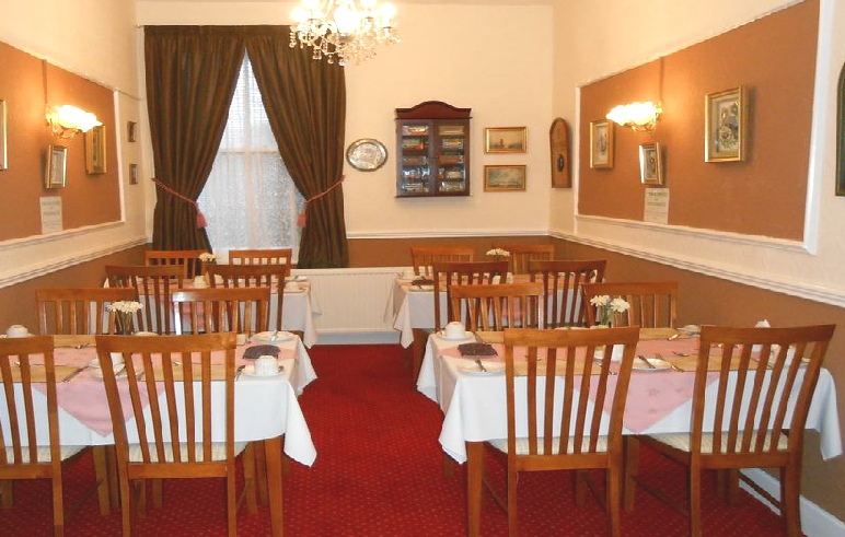 Shirley Heights, Breakfast and Dining Room, Blackpool